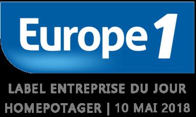 Europe1 Home Potager L'entreprise du jour