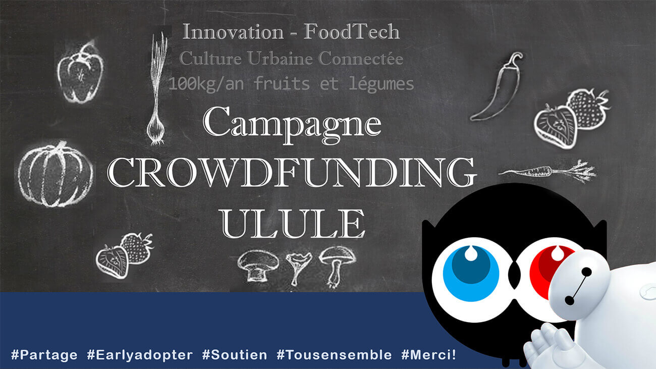 Campagne  ULULE financée!