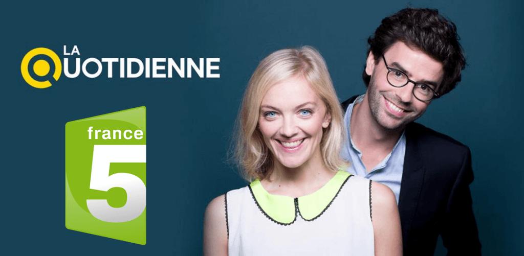 Home Potager dans France 5 - La Quotidienne